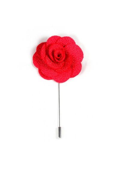 Revers Ansteckblume Rose Pink