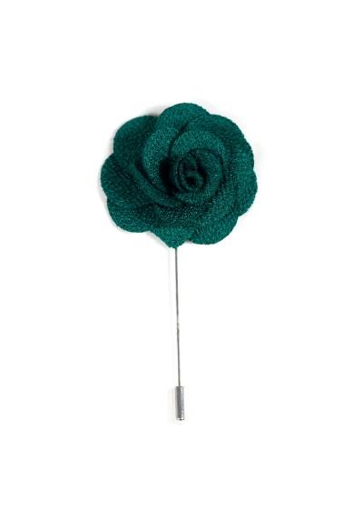 Revers Ansteckblume Rose Grün