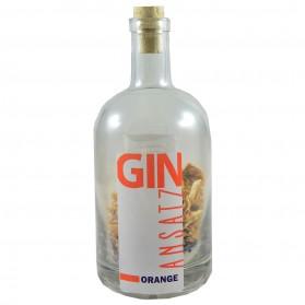 Orangen GIN-Ansatz 500ml Flasche