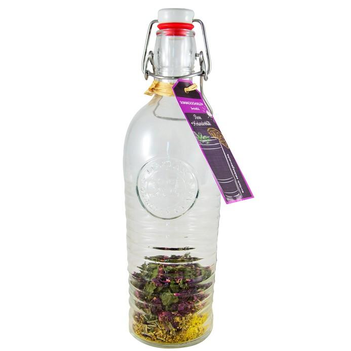 Weinschorlen-Ansatz Rose & Holunderblüte 1200ml Flasche