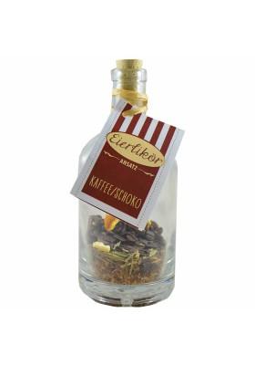 Eierlikör-Ansatz - Kaffee-Schoko - 500ml Flasche