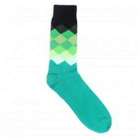 Dressed Socken (39-46) Grün-Schwarz